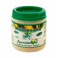 Muirapuama en poudre, pot de 100 g