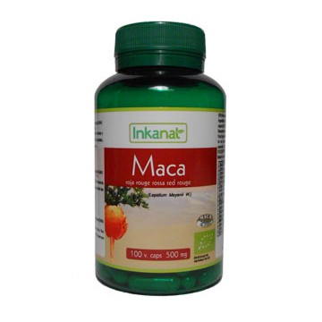 Maca Bio Rouge 100 gélules végétales