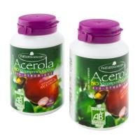Acérola Bio, 2 boites de 30 comprimes