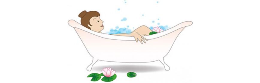 Plantes relaxantes pour le bain
