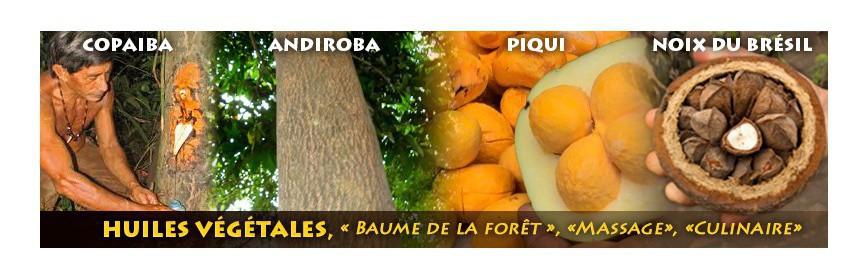 Huiles et baumes d'Amazonie