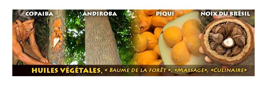Huiles d'Amazonie